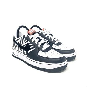 Nike Air Force 1 Low ' Zebra ' - Size 7Y/8.5